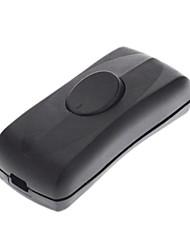 ks1 черный двойной переключатель (250v) высококачественный осветительный аксессуар