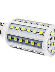 cheap -900lm E26 / E27 LED Corn Lights 60 LED Beads SMD 5050 Natural White 220-240V / 110-130V / # / #