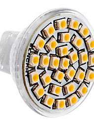 cheap -SENCART 3500lm GU4(MR11) LED Spotlight MR11 30 LED Beads SMD 3528 Warm White 12V