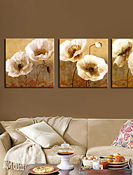 cheap -Canvas Set Botanical Three Panels Horizontal Print Wall Decor Home Decoration