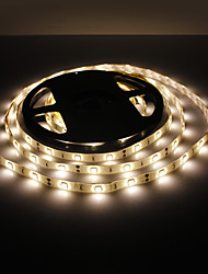 cheap -5m Flexible LED Light Strips 150 LEDs 5050 SMD Warm White Waterproof 12 V