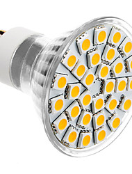 GU10 LED Spotlight MR16 30 SMD 5050 360lm Warm White 3500K AC 85-265V