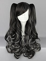 Lolita Wigs Punk Lolita Black Lolita Lolita Wig 70 CM Cosplay Wigs Solid Wig For