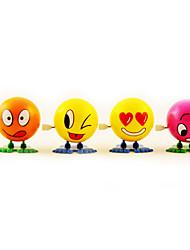 Недорогие -Стволовые Ликвидация Прыжки мультфильм лицо мяча куклы (Random Color)