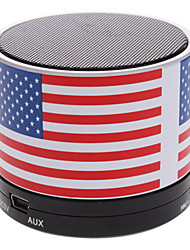 cheap -S10 The USA Flag Mini Bluetooth Speaker with TF Port for Phone/Laptop/Tablet PC