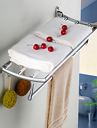 Towel Bar / Chrome Stainless Steel Zinc Alloy /Contemporary