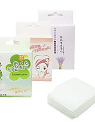 billiga -100st effektiv antibakteriell ren bomull Pads (Random Box)