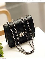Fashion Check Pattern Chain Shoulder Bag