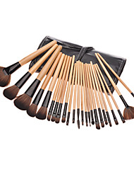 cheap -24 Makeup Brush Set Others Synthetic Hair Nylon High Quality Eye Face Lip Daily High Quality Middle Brush Classic Small Brush