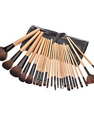 economico -24pcs Pennelli per il trucco Professionale Set di pennelli Pennello di nylon / Capelli sintetici / Altro Classico / Pennello medio / Pennello piccolo