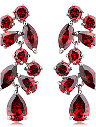 cheap -Women's 1set - Stylish Red Rainbow Champagne Earrings For Special Occasion Party / Evening