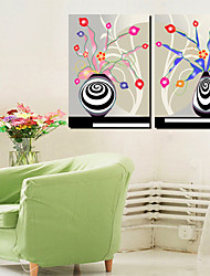 cheap -Stretched Canvas Print Canvas Set Still Life Horizontal Print Wall Decor For Home Decoration