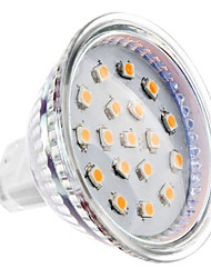 abordables -2W GU5.3(MR16) Focos LED MR16 15 LED SMD 2835 Blanco Cálido 150-200lm 3000KK DC 12V