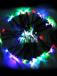 Недорогие -Красочные 22М 200Led светов шнура Синяя Кукуруза Новогоднее украшение Фея Света (цис-57182)