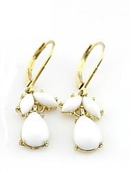 Elegant Alloy Wonmen's Pierced Earrings