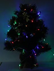 Impermeabile 10m 100-LED 6W RGB LED luce della decorazione di Natale (220)