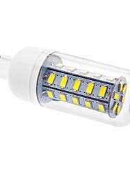 G9 LED-kolbepærer T 36 leds SMD 5730 Kold hvid 450-490lm 6000K Vekselstrøm 220-240V