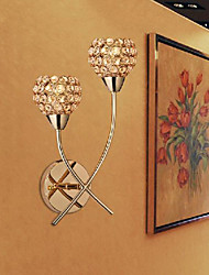 cheap -Modern / Contemporary Wall Lamps & Sconces Metal Wall Light Max 40W