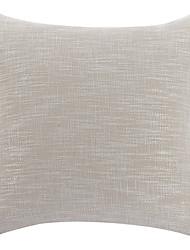 cheap -1 pcs Linen Pillow Cover, Solid Casual