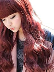 Недорогие -Парики для Лолиты Сладкое детство Красный Лолита Парики для Лолиты 26 дюймовый Косплэй парики Однотонный Парики Хэллоуин парики