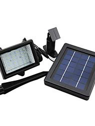 Открытый солнечной энергии 30 светодиодов Автоматическое безопасности Наводнение Сад Водонепроницаемый свет