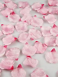 cheap -Gradient Artificial Rose Petals Table Decoration - More Colors (Set of 12 Packs , 100 Petals Per Pack) Coral Wedding