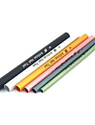 Недорогие -6PCS Кривой Rod палочки ногтей Руководство акрилового геля Применение