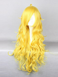 cheap -Cosplay Wigs RWBY Yang Xiao Long Anime Cosplay Wigs 80 CM Heat Resistant Fiber Women's