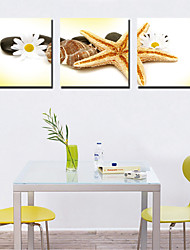 cheap -Stretched Canvas Print Canvas Set Still Life Horizontal Print Wall Decor Home Decoration