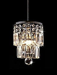 cheap -New Style 15Cm Luxury Crystal Chandelier Dining Room Pendant Light Ceiling Lamp