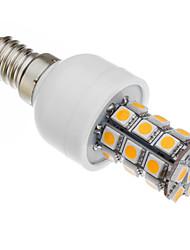 530-560 lm E14 LED klipaste žarulje T 27 LED diode SMD 5050 Toplo bijelo AC 85-265V