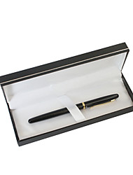 cheap -Personalized Father's Day Gift Black Classic Metal Black Ink Gel Pen