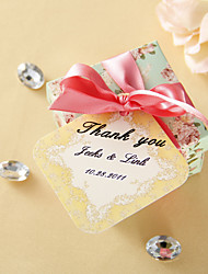 Personalized Favor Tags - Golden Autumn (set of 36)