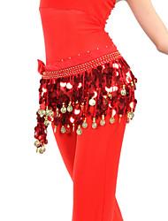 abordables -Danse du ventre Ceinture Femme Entraînement Mousseline de soie Jeton