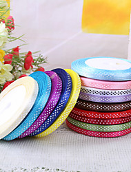 cheap -Dots Satin Wedding Ribbons Piece/Set Satin Ribbon Decorate favor holder / Decorate gift box / Decorate wedding scene