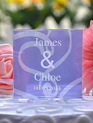 Decorazioni torte Personalizzato Cristalli Matrimonio / Anniversario Lilla Floreale / Classico Confezione regalo