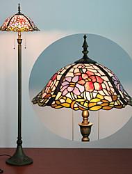 Недорогие -Торшер, 2 Легкие, изысканные Смола Тиффани стекла Процесс картины
