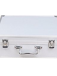 cheap -Dragonhawk® Large Size White Aluminum Tattoo Kit Case Traveling Convention Carry