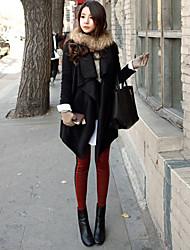 Недорогие -Мода нагрудные женские пальто