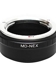 EMOLUX Minolta MD Objektiv Sony NEX-5 NEX-3 NEX-7 NEX-VG10 E-Mount-Adapter