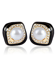 cheap -Women's Rhinestone Imitation Pearl - Square Cut Alloy For