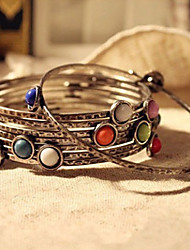 MISSING U Bohemian Style Alloy / Resin Bracelet Chain & Link Bracelets Daily 1pc