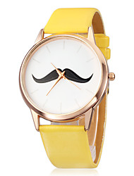 cheap -Women's Watch Minimalism Design Beard Pattern Cool Watches Unique Watches