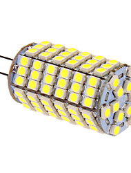 G4 LED a pannocchia T 118 leds SMD 5050 Luce fredda 400lm 5500-6500K DC 12V