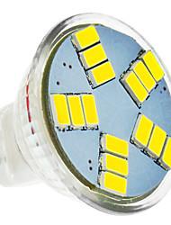 billige -420 lm LED-spotpærer MR11 15 LED perler SMD 5630 Kjølig hvit 12 V / #