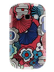 Motif coloré Pétales TPU Retour Housse pour Samsung Galaxy renommée S6810