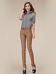 Women's Skinny Jeans Pants Mid Rise Cotton Micro-elastic All Seasons