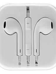 Недорогие -Стерео наушники, с регулятором громкости, с микрофоном, для iPhone 6 / iPhone 6 Plu, 3,5 мм