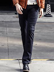 RQMD Muška sve odgovarajuće Leisure Poslovni Ravno duge hlače
