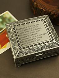 Недорогие -персонализированный подарок на память коробка сплав олова